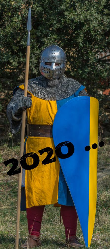 Guerrero medieval Guerrer medieval Medieval warrior Guerrier médiéval