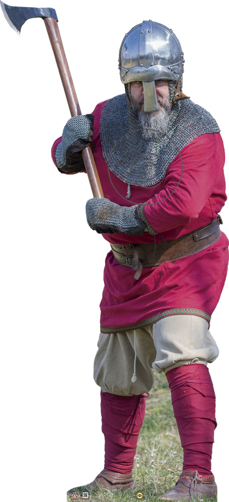 Guerrero vikingo Guerrer viking Viking warrior Guerrier viking
